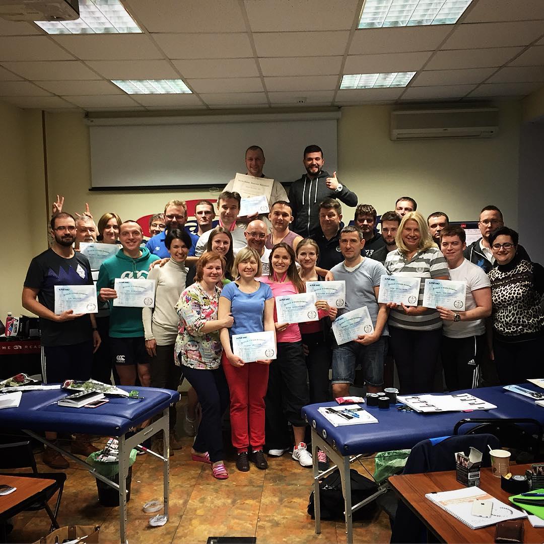 Участники курса Стефано Фрассине, 5-6 марта 2016 года
